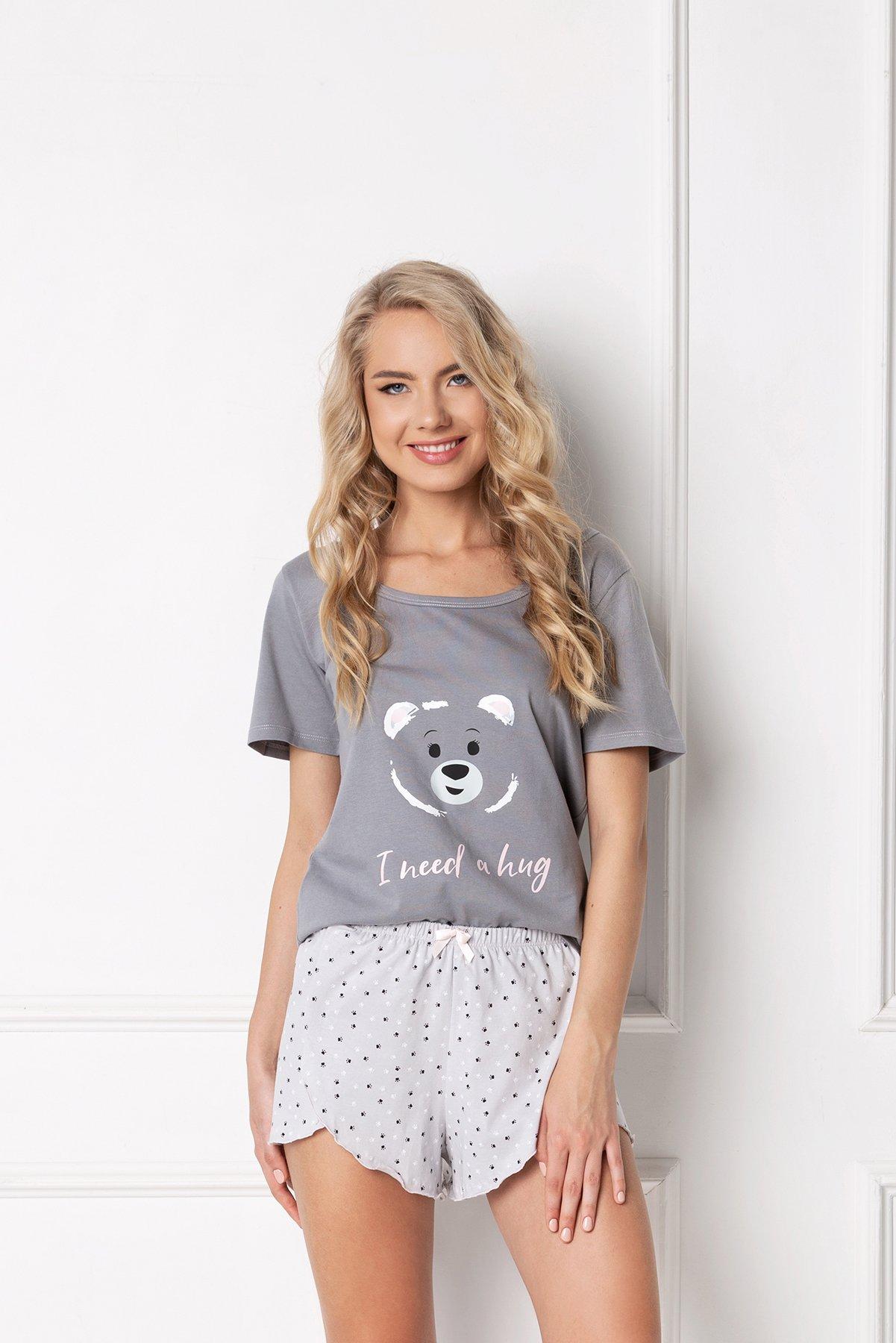 Huggy Bear Short Grey SS-GRA