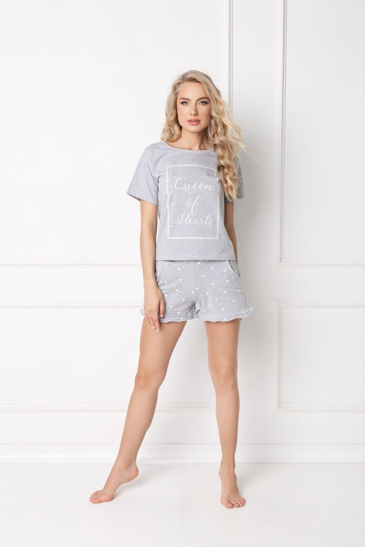 Hearty Short Grey SS-GRA