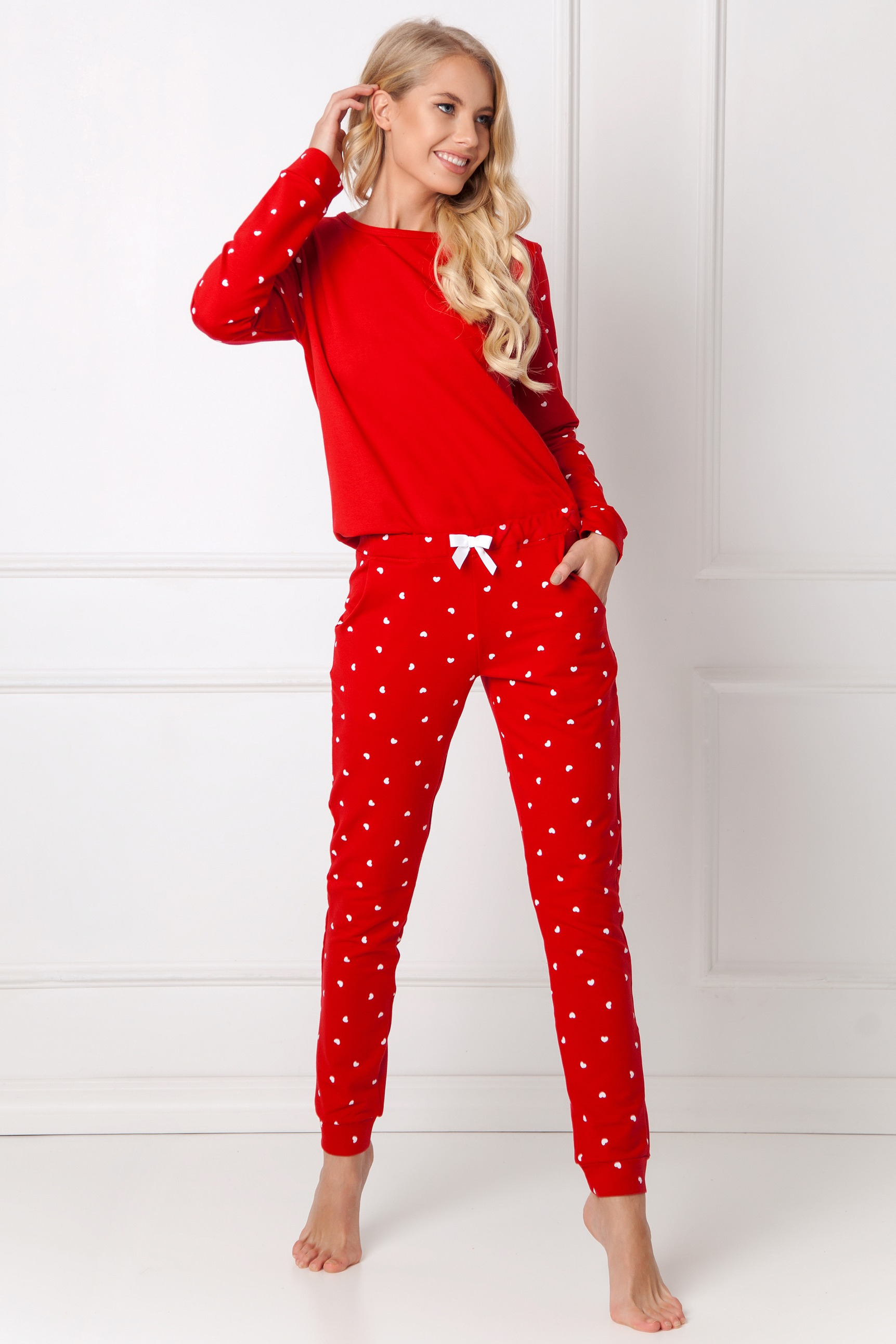 Dres Hearty Set Red-RED
