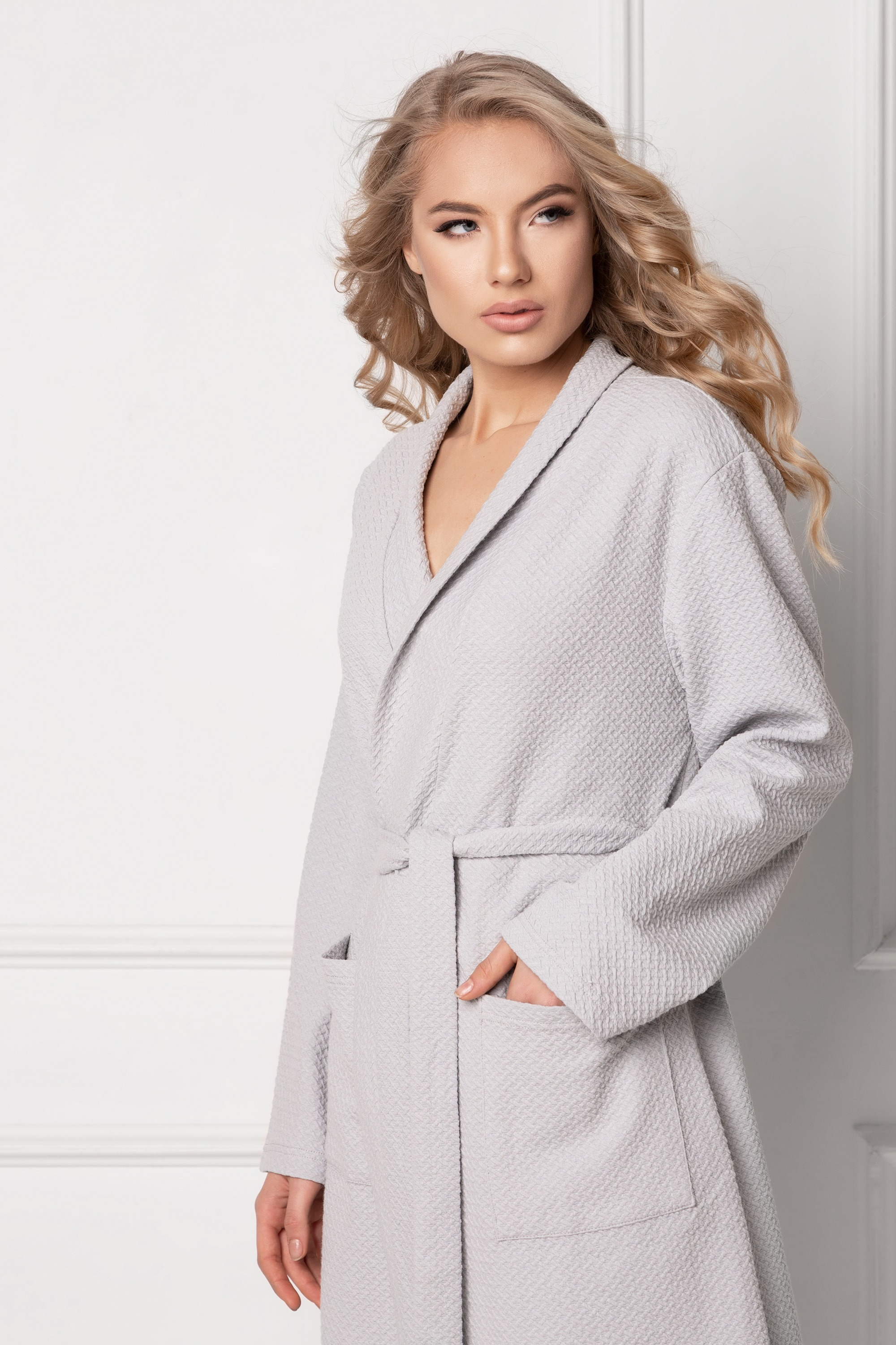 Marshmallow Grey Long-