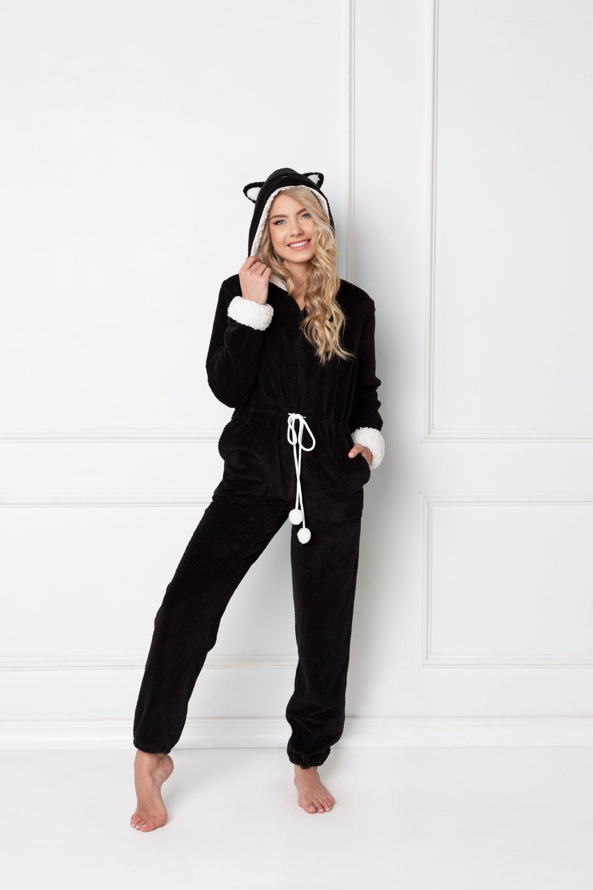 Catwoman Onesie Black-
