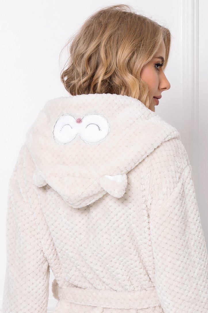 Willow Bathrobe - s kapucí a ušima-LIGBEI