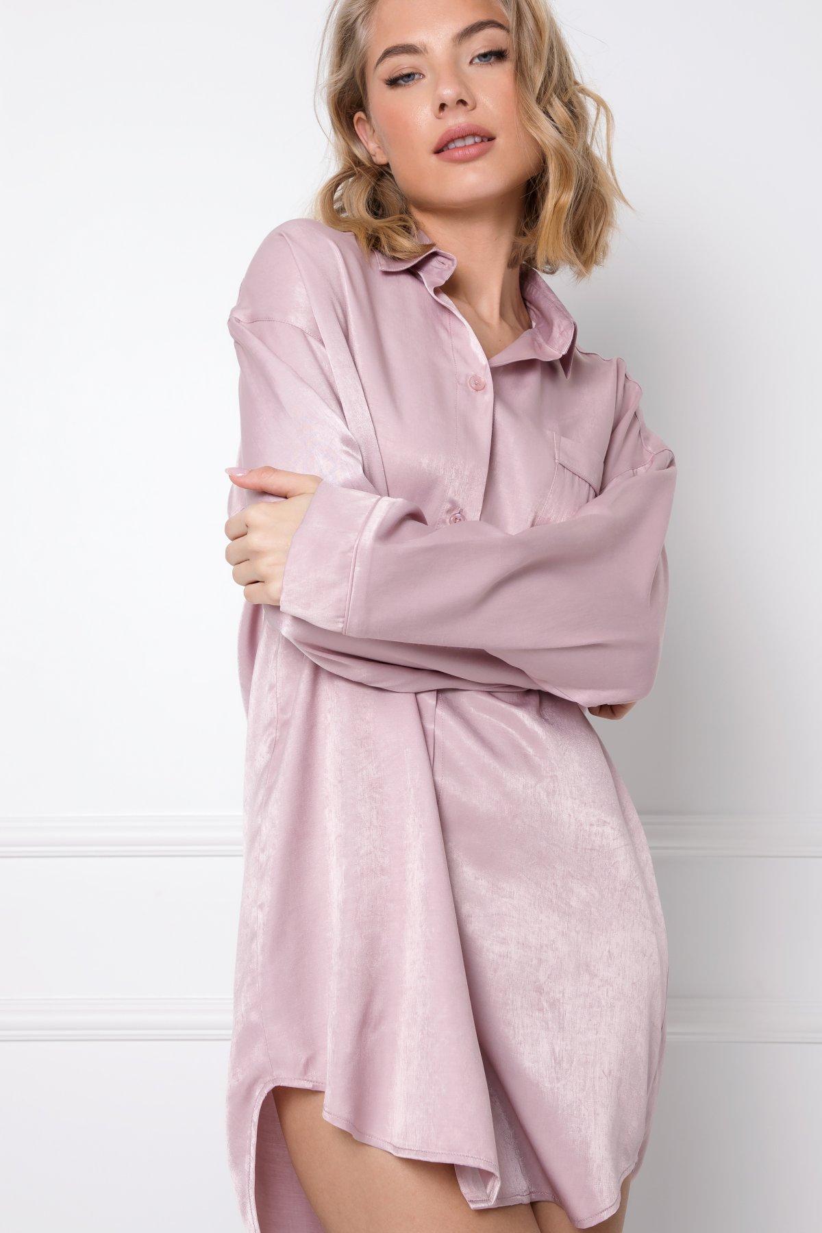 Lucy Nightdress - s dlouhým rukávem-PINOLD
