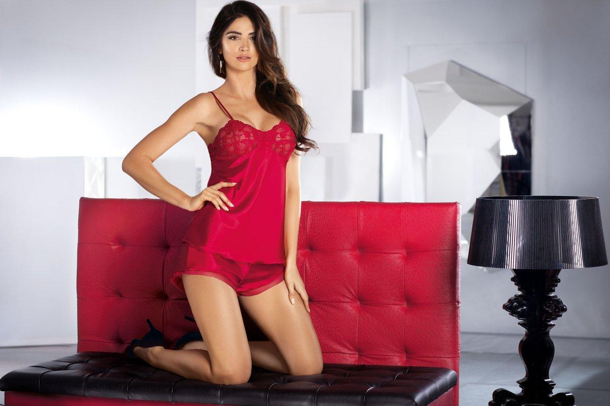 Aisha SS Red-