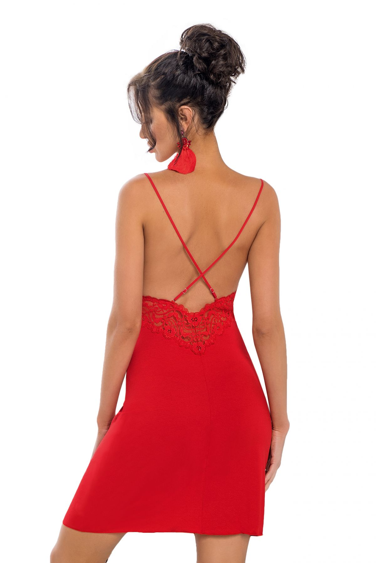 Lily Red push-up-RED