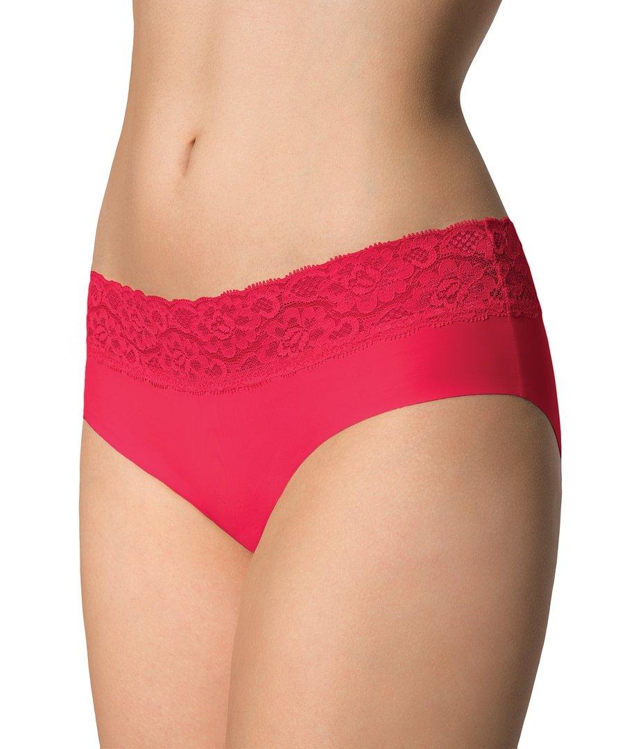 Kalhotky Julimex Hipster panty Červená XL
