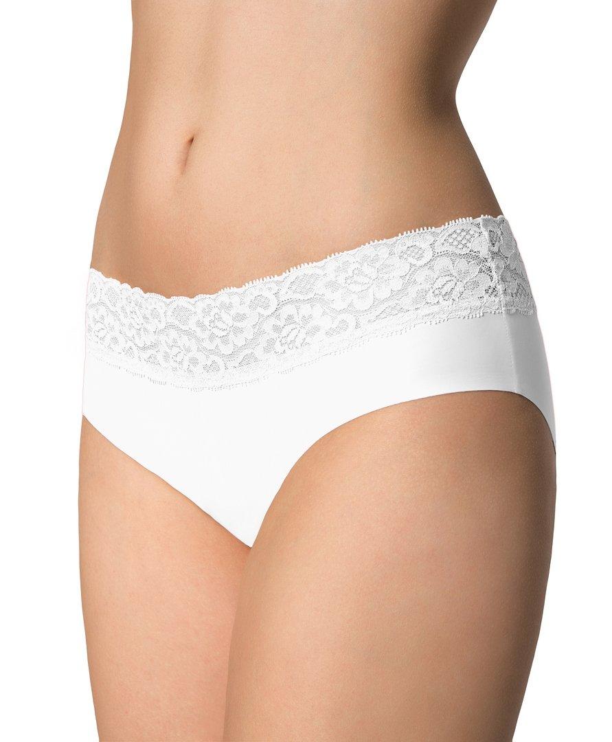 Kalhotky Julimex Hipster panty Bílá XL
