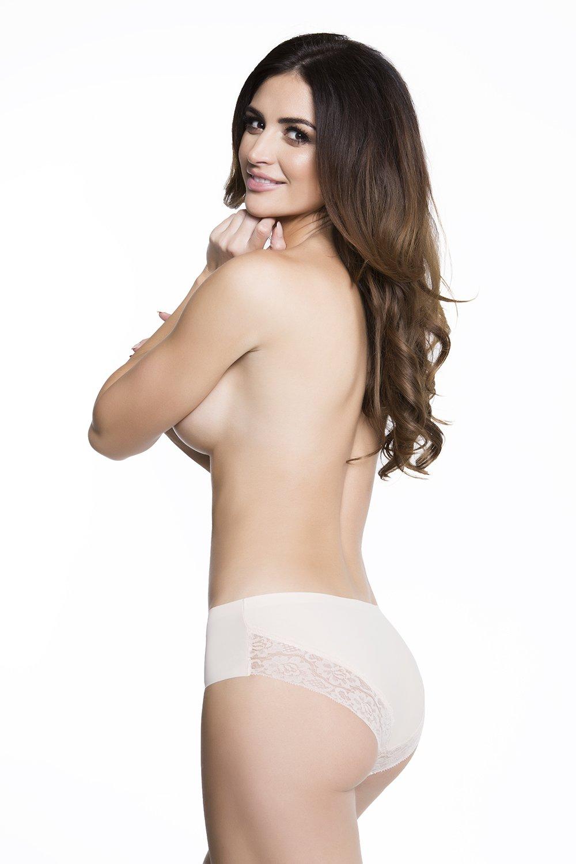 Kalhotky Julimex Cheekie panty Béžová XL
