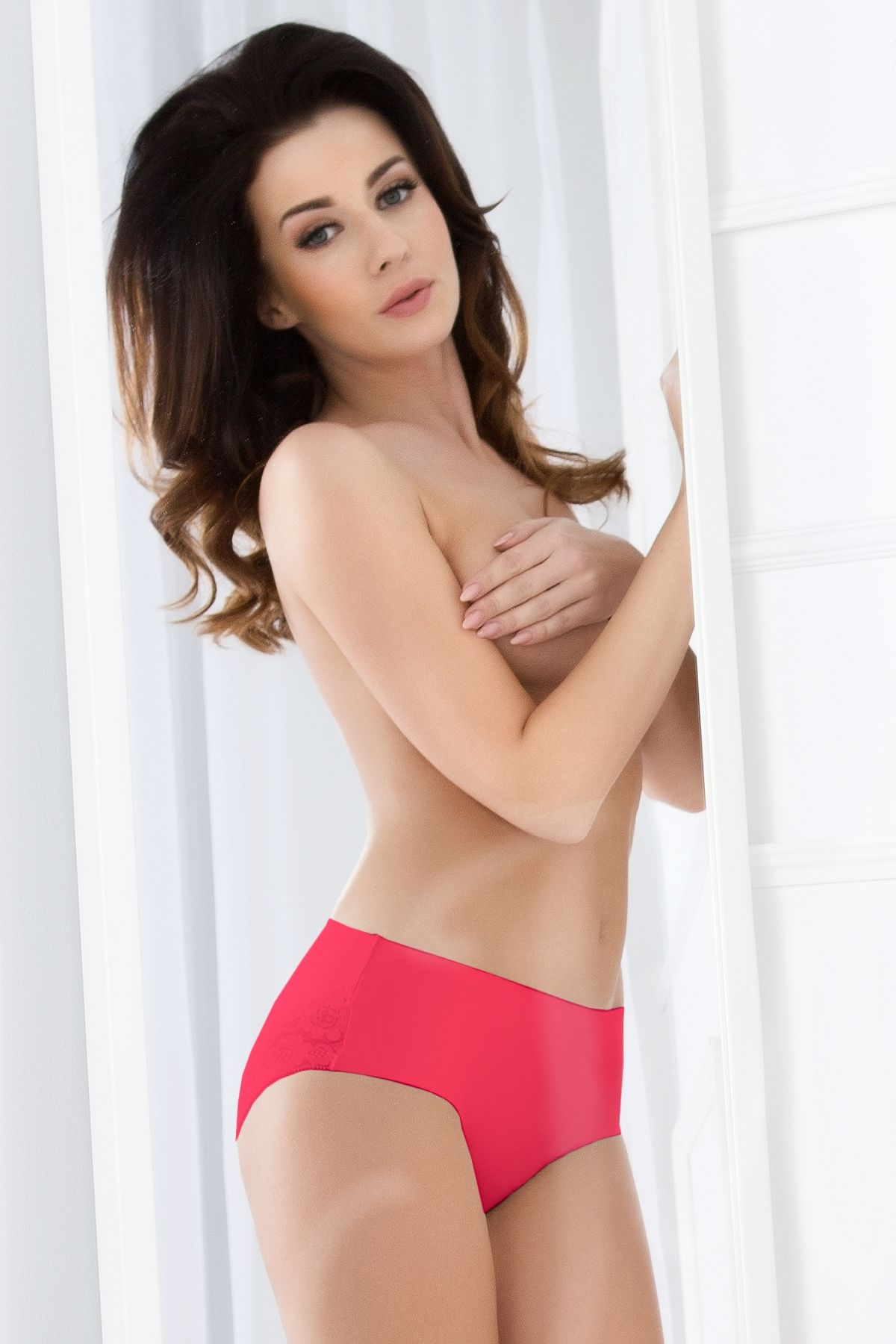 Cheekie panty-RED