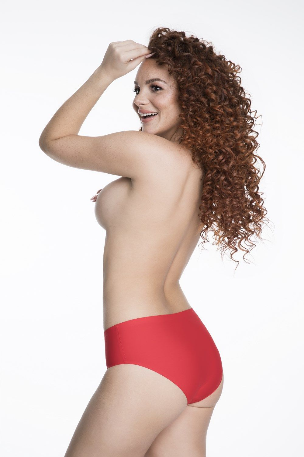 Simple panty-RED