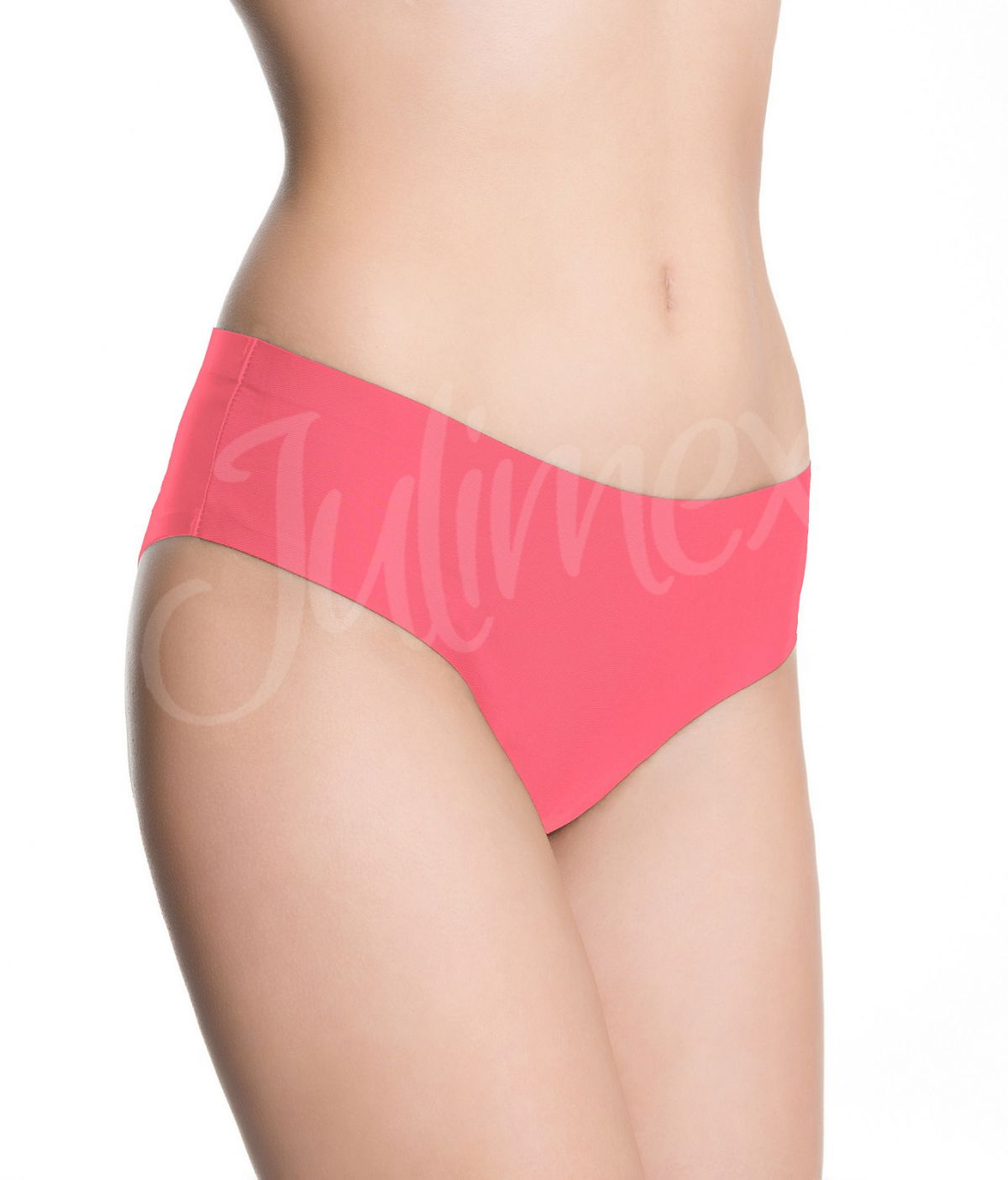 Kalhotky Julimex Bootie panty Korálová XL