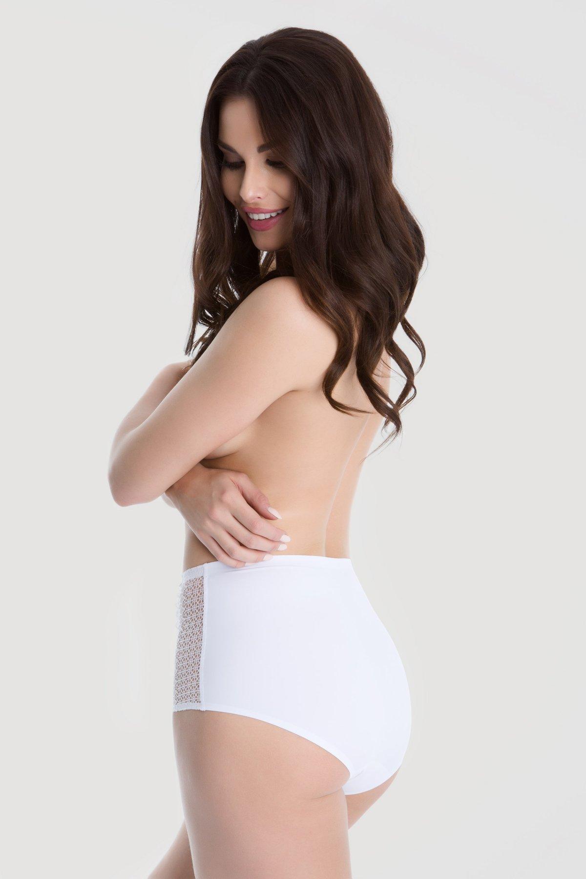 Kalhotky Julimex Opal Bílá 3XL