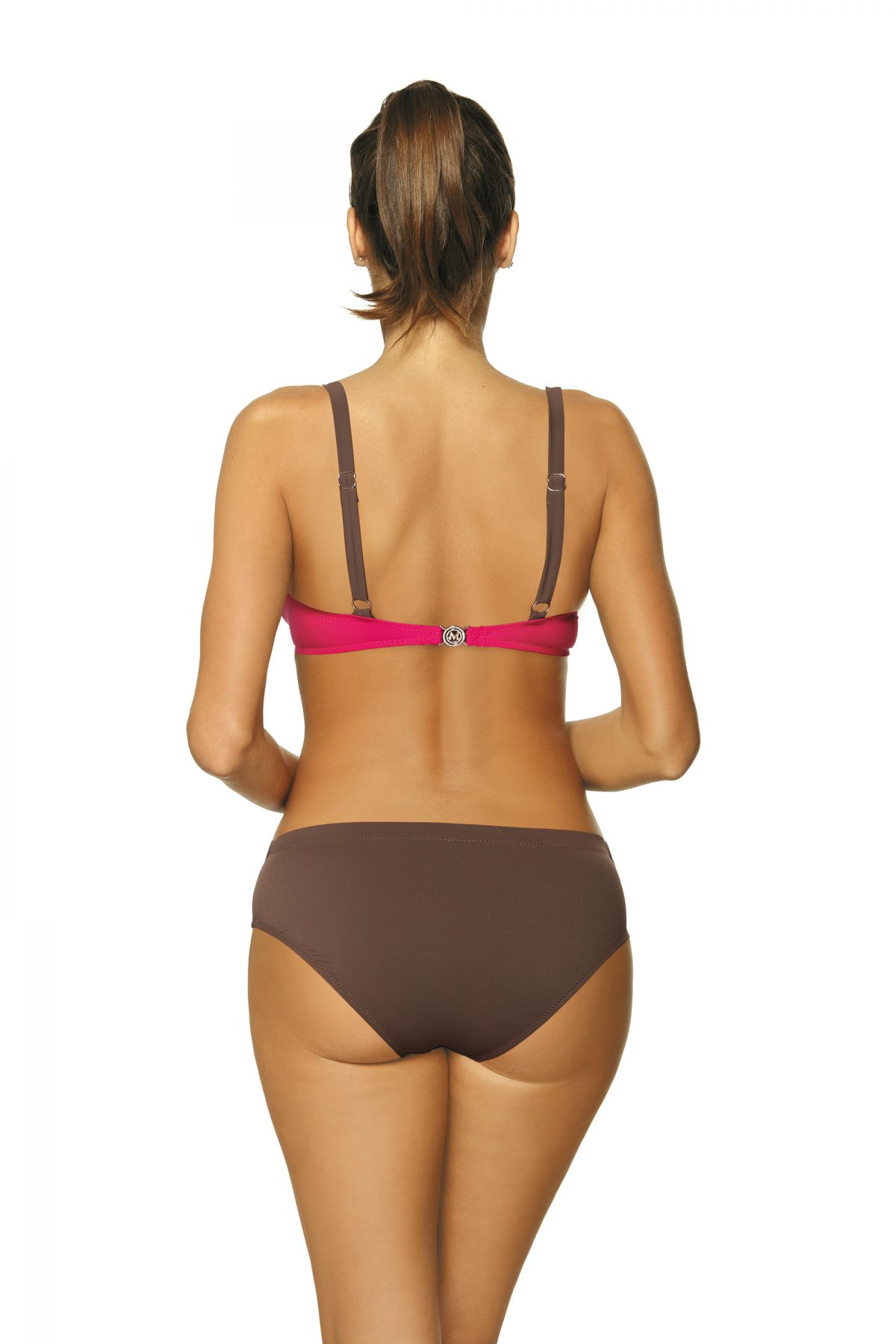 Barbara Dark Taupe-Razberry M-473 (1)-FUCH