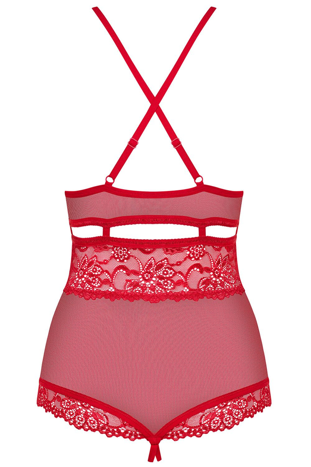 838-TED-3 Body Hey Sexy Red-RED