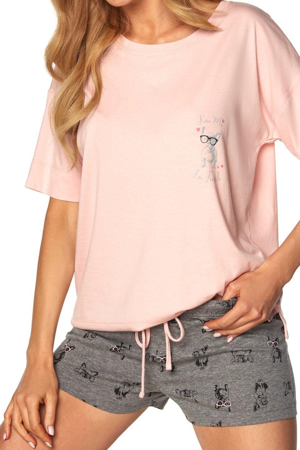 Monica SAL-PY-1168-II Pink-PIN