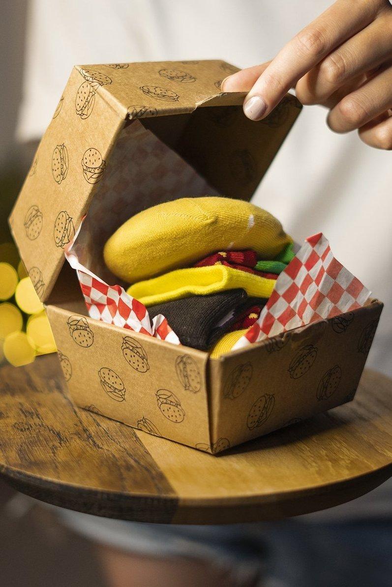 Hamburger box-YELBLA
